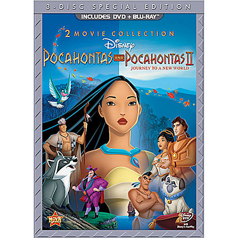 Pocahontas 2 : Un Monde Nouveau [DisneyToon - 1999] - Page 6 Dvd_po10