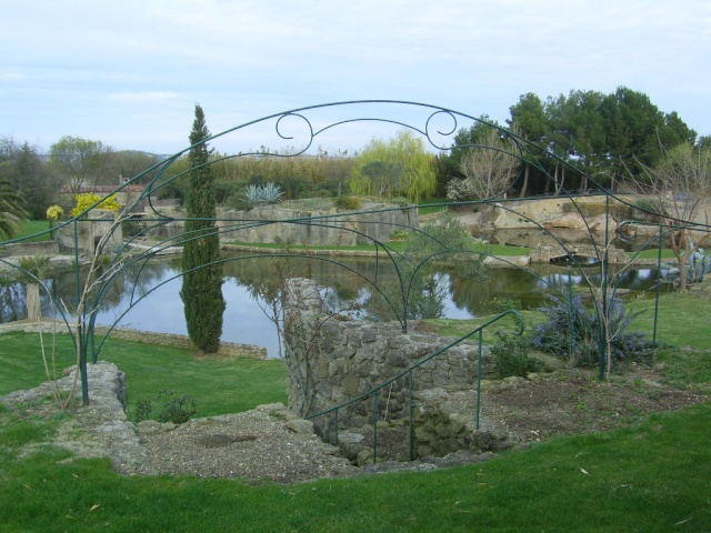 Le Jardin de Saint Adrien à Servian Sv100411