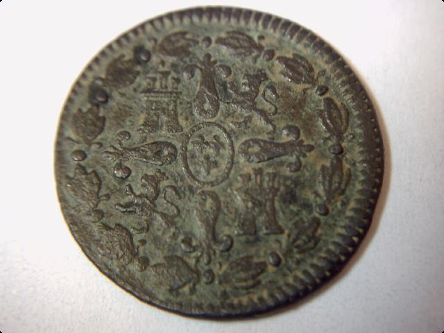 4 Maravedíes de Carlos IV (Segovia, 1803) Mis_co15