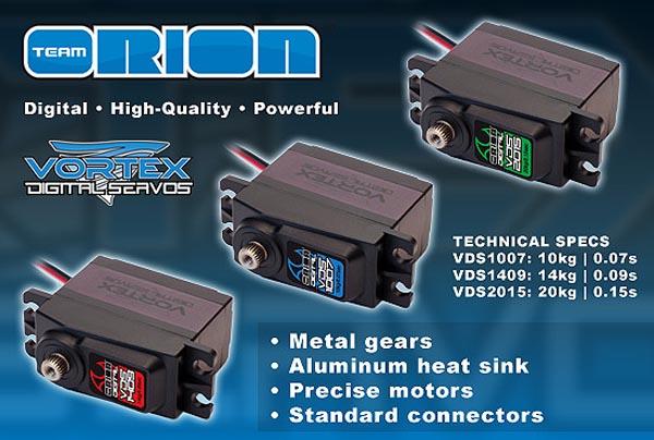 >> New Servos By Orion Vds_se10