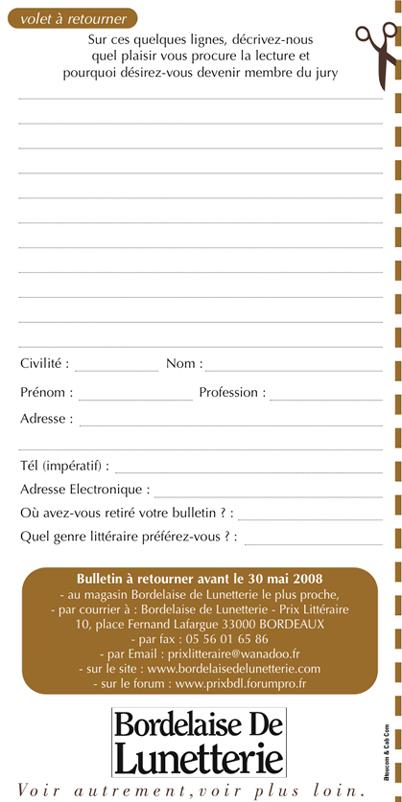 BULLETIN DE CANDIDATURE JURES 11ème édition - 2009 R4_mon10