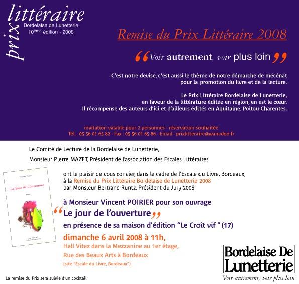 2008 Dimanche 6 avril - Remise du Prix 10è édition Verso_14