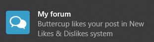Discover the new Like and Dislike system of Forumotion En_lik19