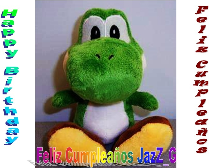 Feliz Cumpleaños JazZ Dibujo10