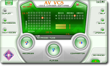 Voice Changer Software AV VCS 4.0.54 Vcs10