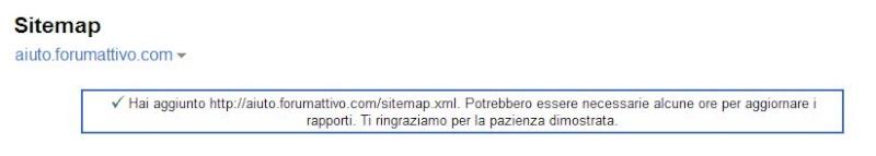 Ottimizzazione del referenziamento forum con Google Sitemaps 911