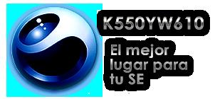 Bienvenidos a K550@w610 Waff10