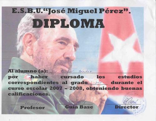 LA REALIDAD CUBANA MEDIANTE LA IMAGEN: 1959-PRESENTE Diplom10