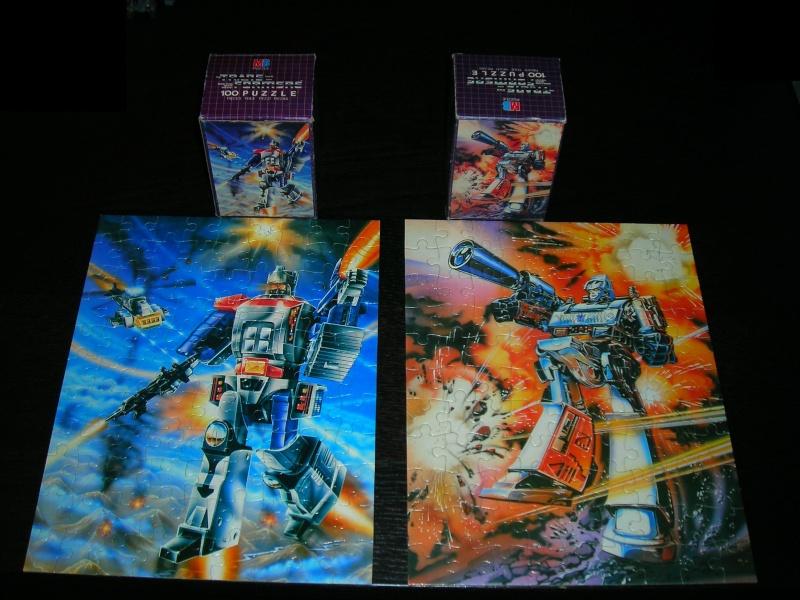 Les puzzles 80's de D.A, séries ou de  gamme de jouets.... Dscn4414