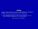 Microsoft lanza un Salvapantallas que simula BSODs Bsod11