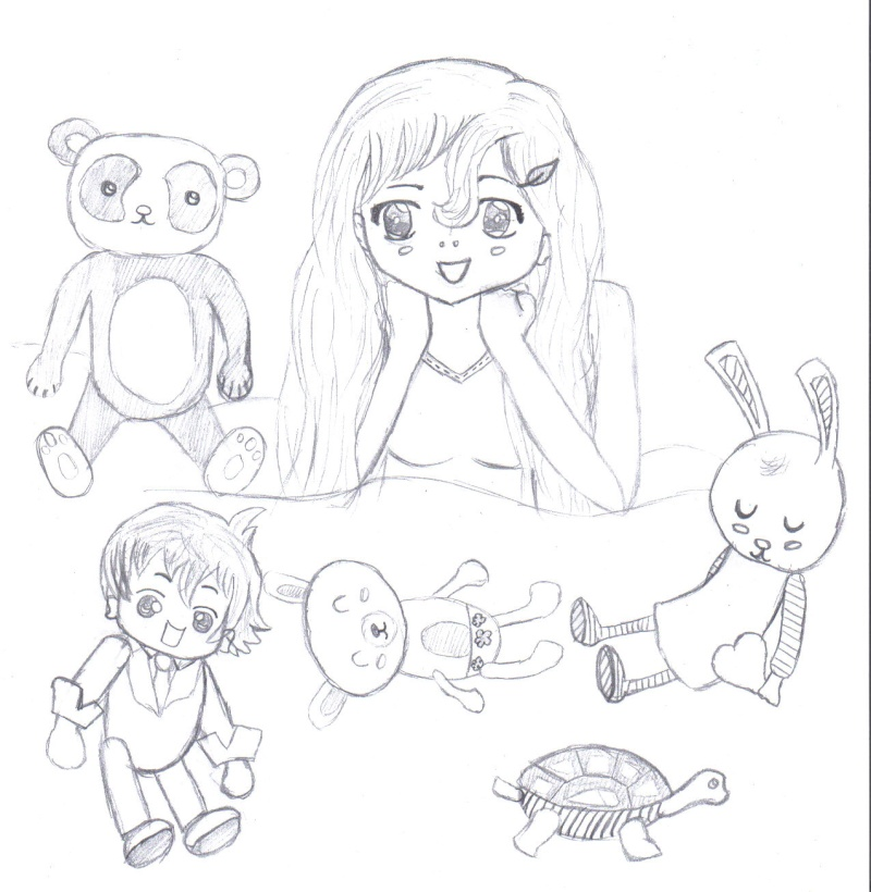 Les pitit dessins de Cécile358 - Page 2 Lyra_610