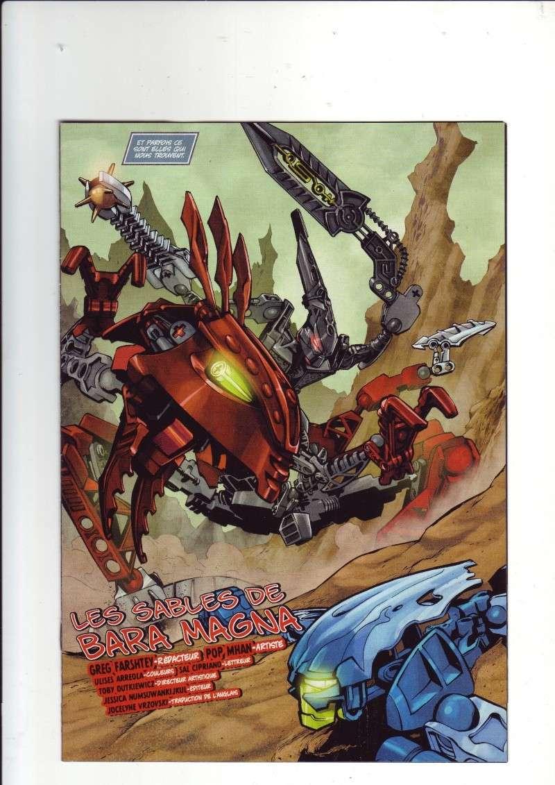 [Comics] VF de la 1ère BD 2009 «les sable de bara magna» et du LEGO Magazine Save0013