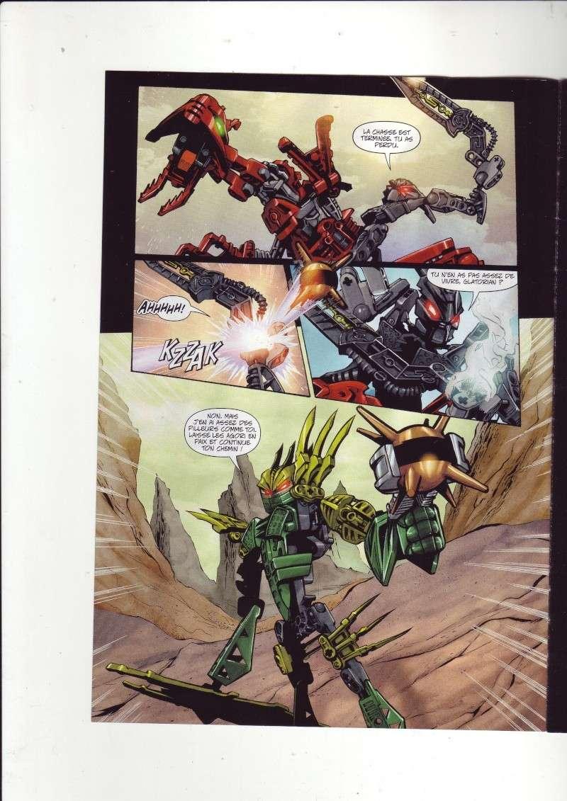[Comics] VF de la 1ère BD 2009 «les sable de bara magna» et du LEGO Magazine Save0014