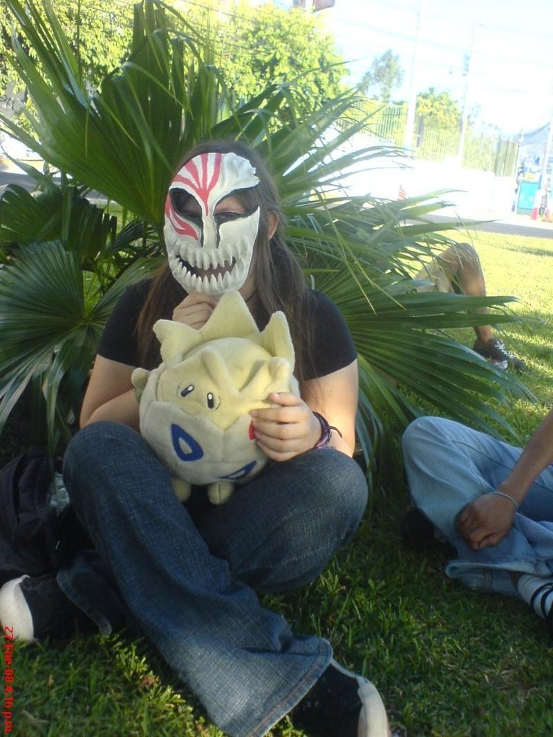 Tutorial cosplay Máscara de Hollow (Bleach) Dsc05610