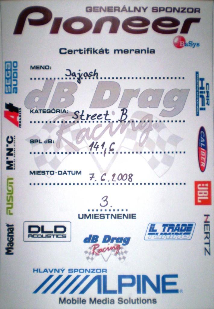 Môj uspech na Db Drag 30011