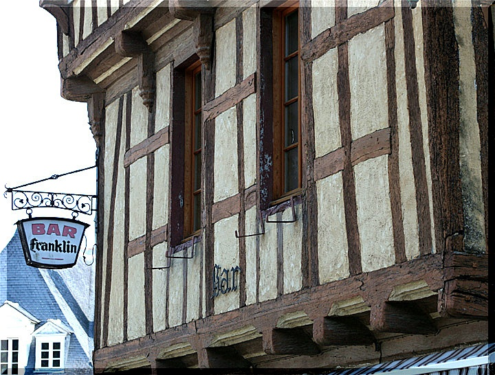 Façades à Auray Bretagne (56) 0229