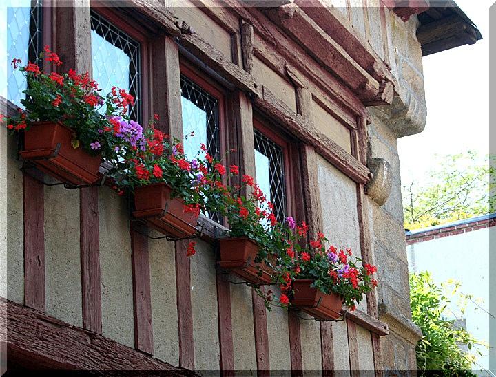 Façades à Auray Bretagne (56) 0331