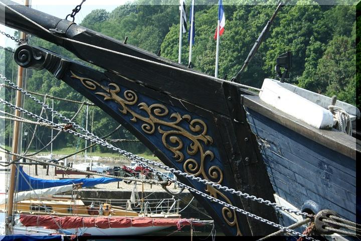 Sur le port de Saint Goustan a Auray 0335