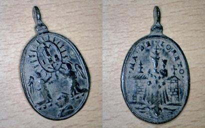 Médaille Ste-Marie-de-Lorette ( XVIIème) Medail14