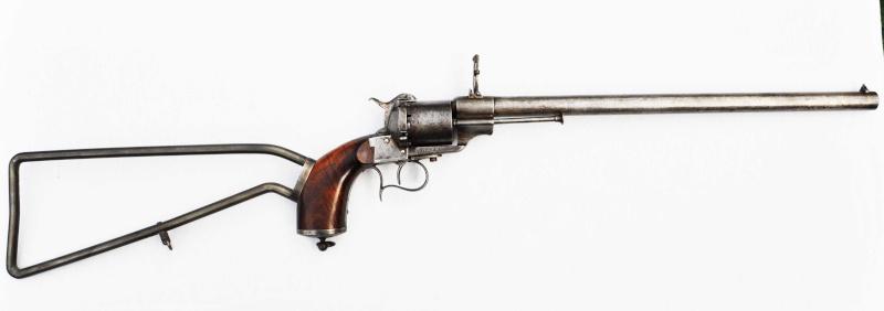 La carabine revolver Lefaucheux Lf_13010