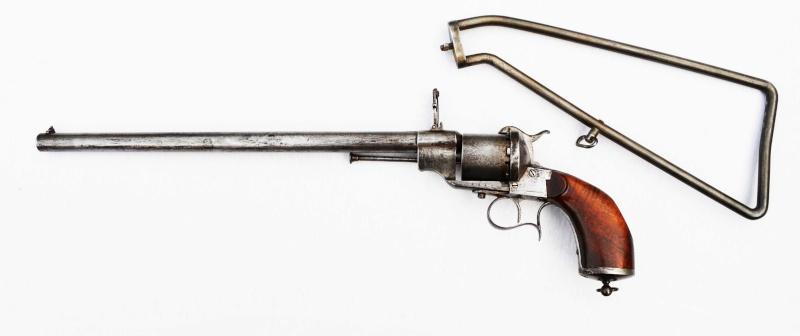 La carabine revolver Lefaucheux Lf_13012
