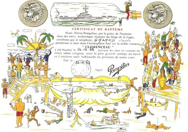[ Les traditions dans la Marine ] LE PASSAGE DE LA LIGNE - ÉQUATEUR (Sujet unique) - Page 6 Numeri10