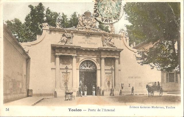 [ Les ports  militaires de métropole ] Toulon des années 30 Toulon10