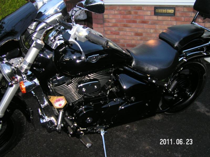 My .......... Suzuki M800 Pict0016