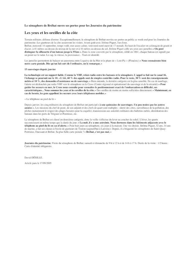 SÉMAPHORE - BREHAT (COTES D'ARMOR) Brehat16