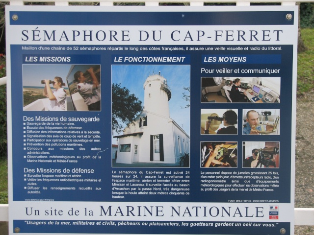 SÉMAPHORE - CAP FERRET (GIRONDE) Ferret10