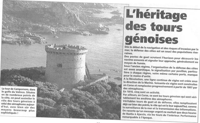 [ Les sémaphores - divers ] Les sémaphores en Corse vus par Corse Matin Sentin16