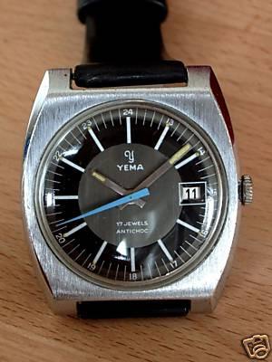 Daytona - chrono Yema vintage Yema10