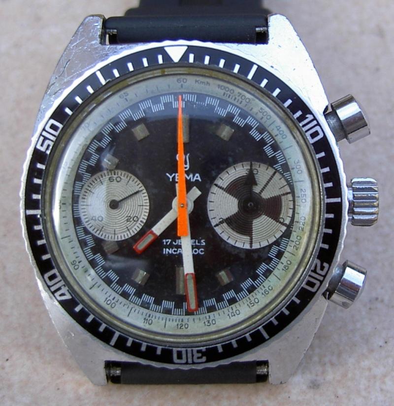 Daytona - chrono Yema vintage Yema110