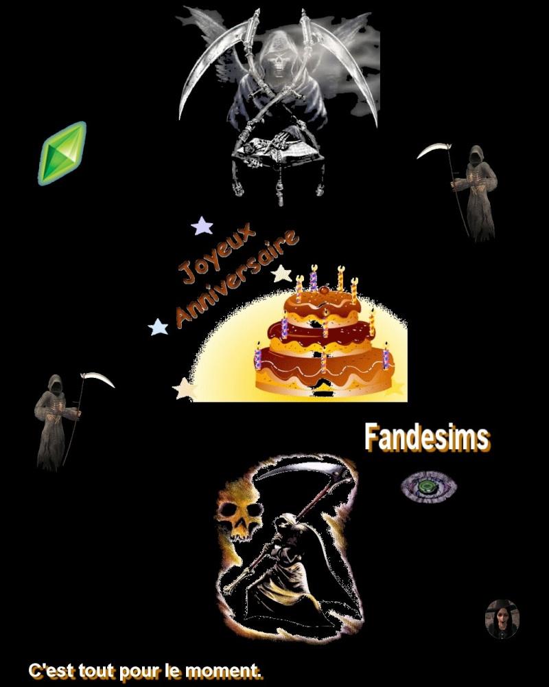 Anniversaire de Fandesims Annive13