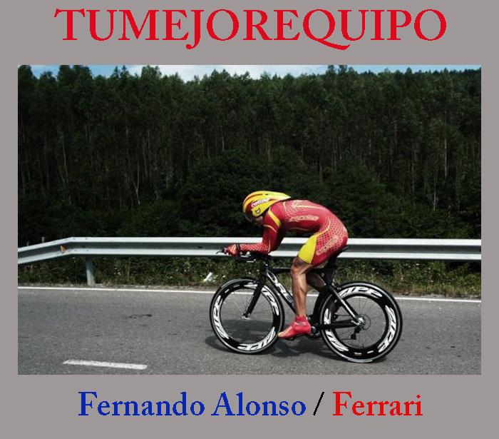 Fernando Alonso podio también en ciclismo 12_jul10