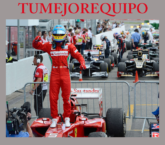 """Fernando Alonso : """"Tenemos que seguir trabajando a tope"""" 23_jul10"""
