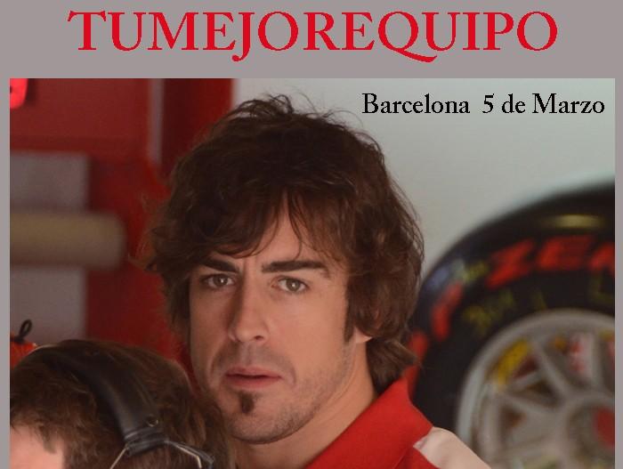 """Fernando Alonso :""""Debemos darlo todo para mejorar"""" 5_marz10"""