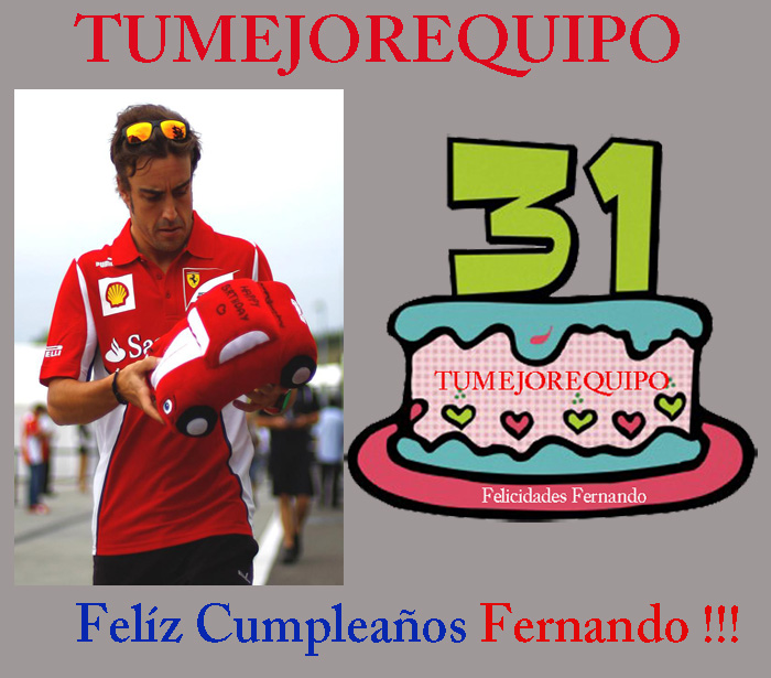 Fernando Alonso cumple 31 años  Alonso18