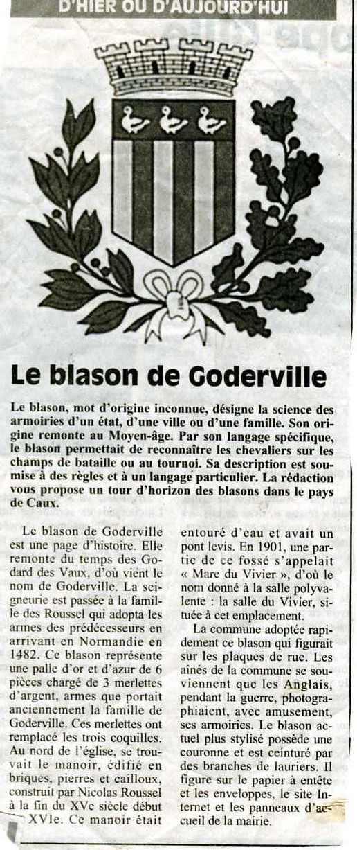 Goderville - Blason Goderv10