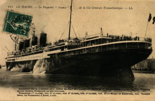 """Paquebot """" Le France"""" 1912 Le-fra10"""