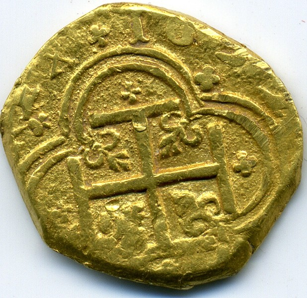 2 Escudos de oro de Felipe IV (Cartagena de Indias, 1633) Img35211