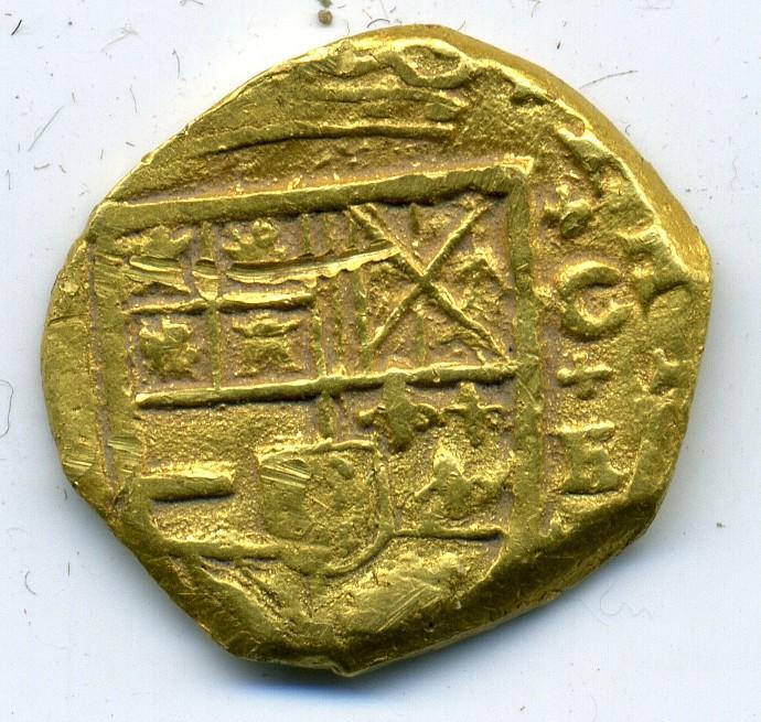 2 Escudos de oro de Felipe IV (Cartagena de Indias, 1633) Img35311