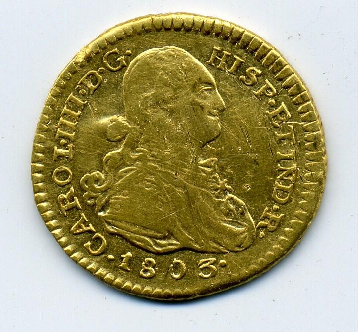 1 Escudo de Carlos IIII (Popayán, 1803) Img46510