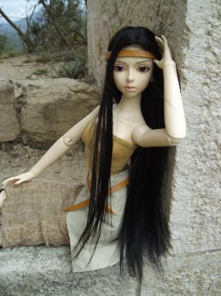 Kaori (Elfdoll Ryung) De l'indienne à la guerrière K810