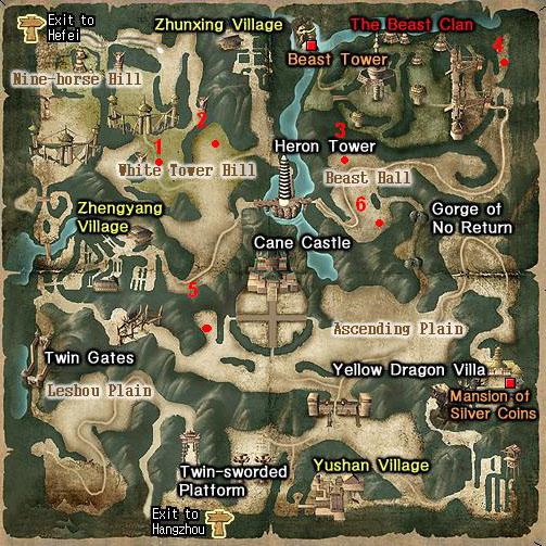 Lugares donde puedes encontrar los BOSS Nancha10