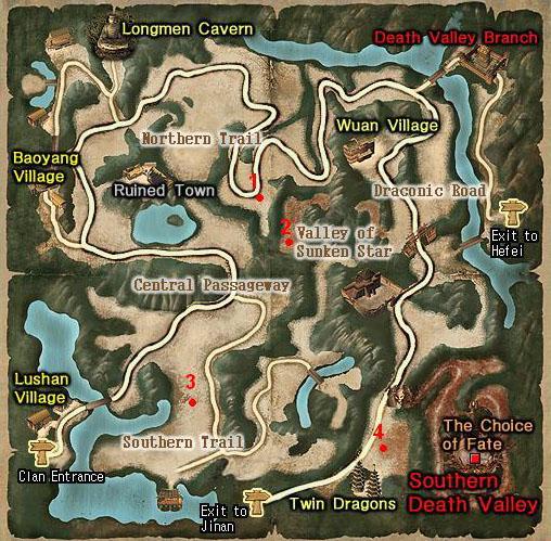 Lugares donde puedes encontrar los BOSS Zhengz10