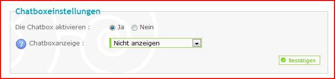 Chatbox - die Einstellungen, Befehle und weitere Infos Aufze270
