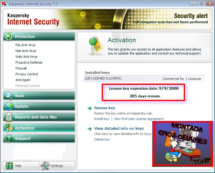 Kaspersky Internet Security v7.0.1.325 Final 33052310