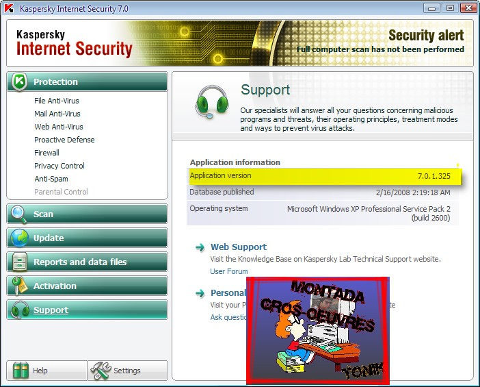 Kaspersky Internet Security v7.0.1.325 Final 67398510