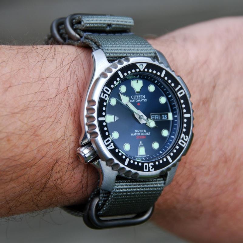 citizen - Seiko Diver's 200 SKX009K vs Citizen Promaster Diver NY2300 - Page 2 Marata11